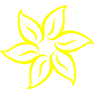 Yellow Flower Clip Art-Yellow Flower clip art-11