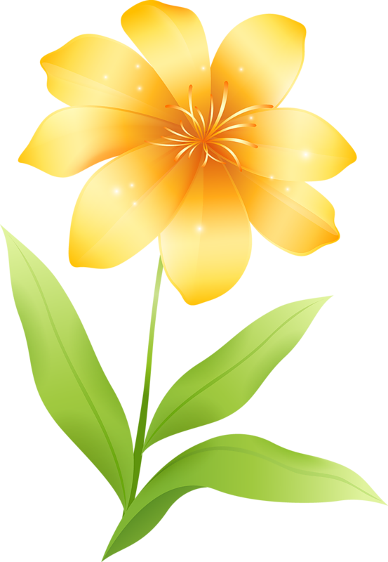 Yellow Flower Clipart | Cool Eyecatching-Yellow Flower Clipart | Cool Eyecatching tatoos-11