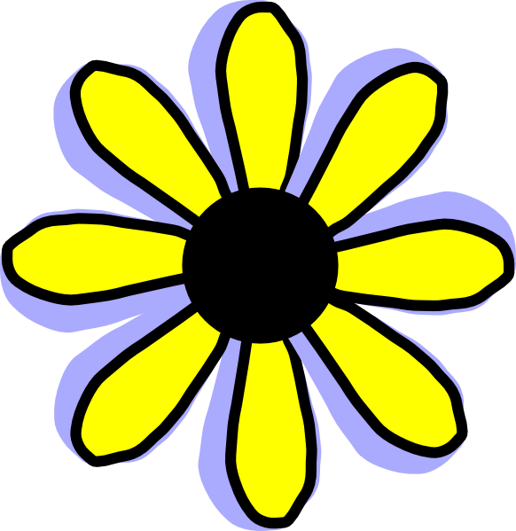 Yellow Flower Clipart | Cool Eyecatching-Yellow Flower Clipart | Cool Eyecatching tatoos-7