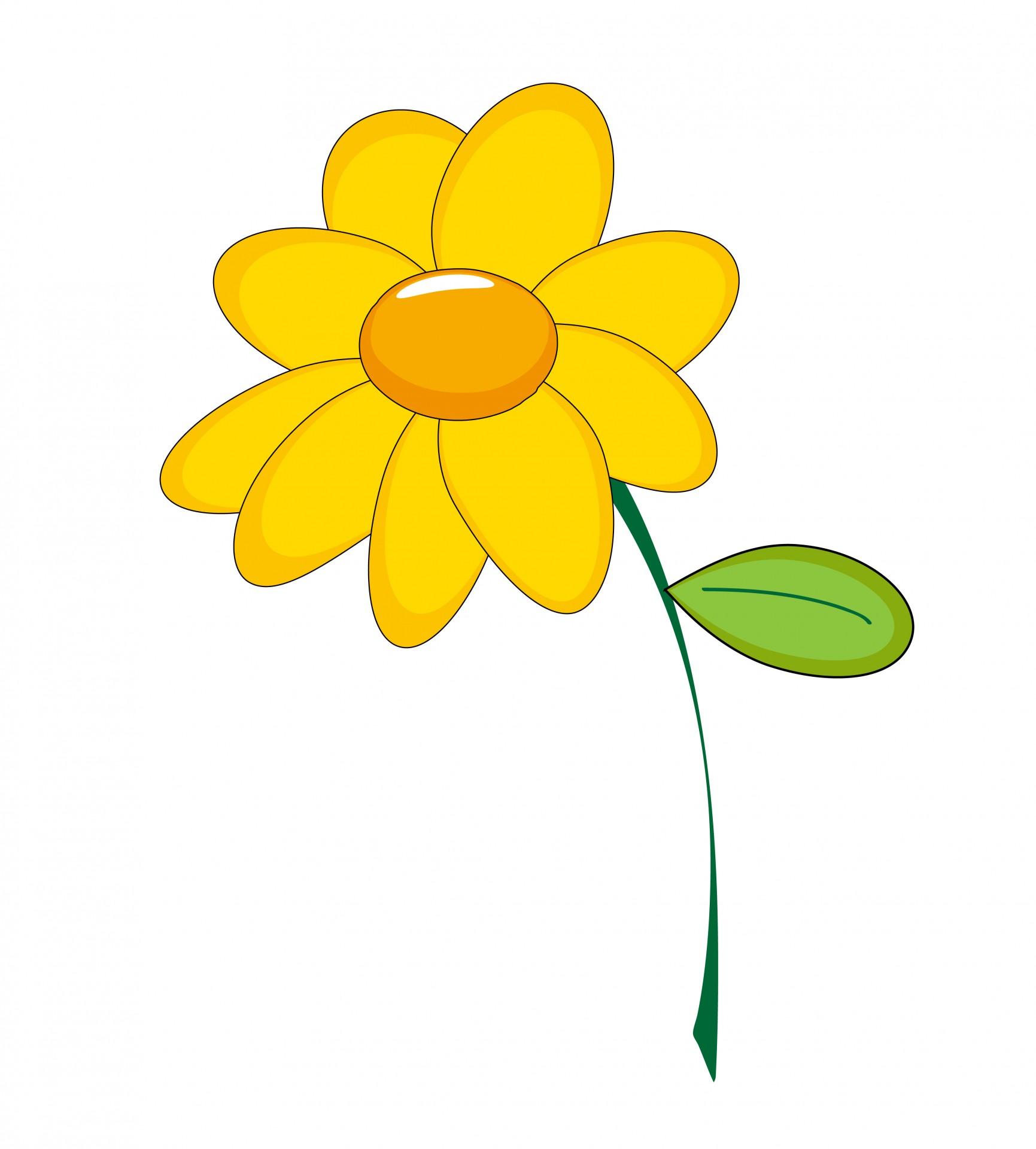 Yellow Flower Clipart-Yellow Flower Clipart-14