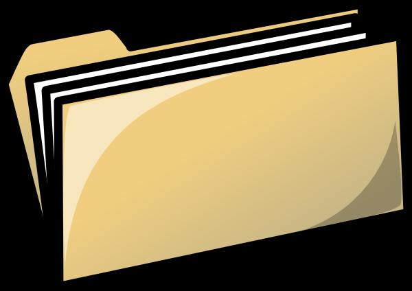 Yellow Folder Clip Art At Clker Com Vect-Yellow Folder Clip Art At Clker Com Vector Clip Art Online Royalty-17