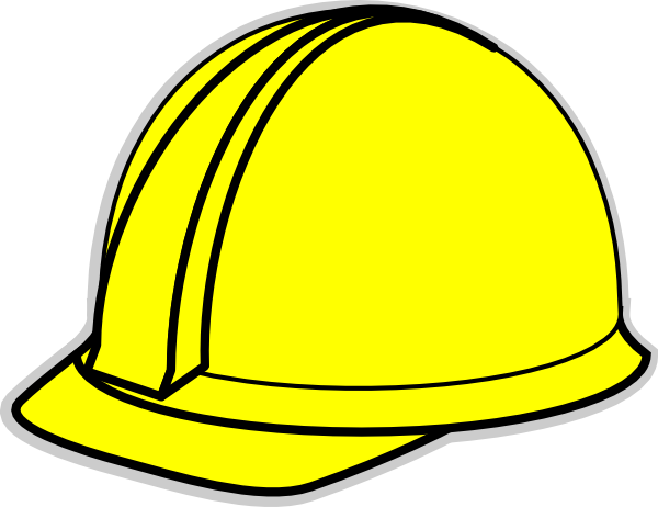 Yellow Hard Hat Clip Art At Clker Com Vector Clip Art Online