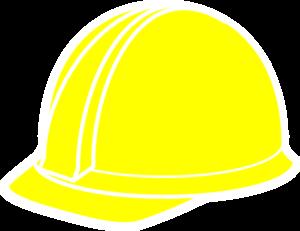 Yellow Hard Hat Clip Art