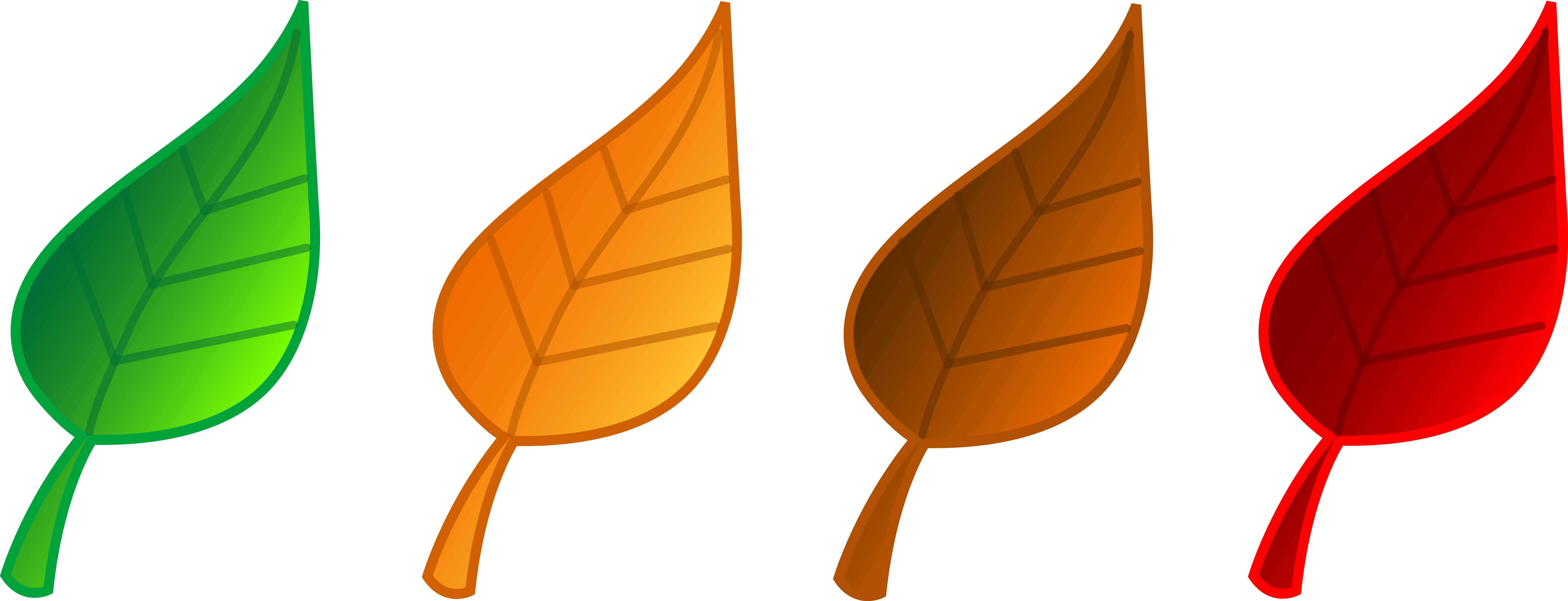 Yellow leaf clipart free clipart images