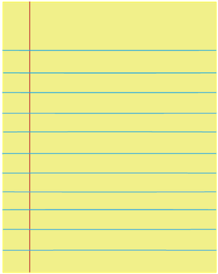 Yellow Lined Paper · Misopocky .-Yellow lined paper · Misopocky .-12