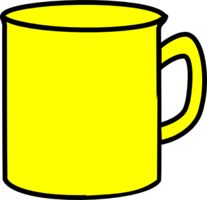 Yellow Mug Clip Art At Clker Com Vector Clip Art Online Royalty