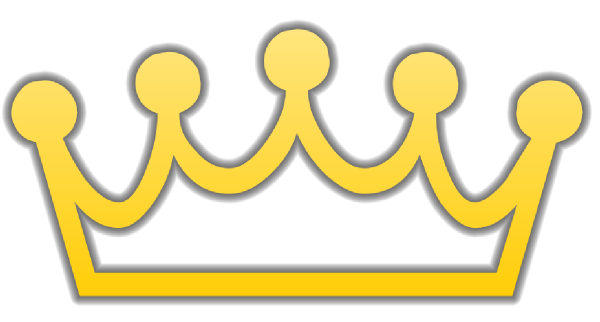 Yellow Outline Crown Clipart-Yellow Outline Crown Clipart-18