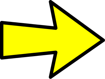 Yellow Right Signs Symbol .