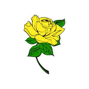 Yellow Rose Clip Art Free-Yellow Rose Clip Art Free-7