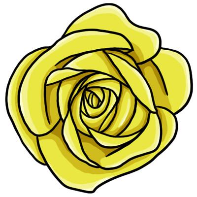 Yellow Rose Clip Art Free-Yellow Rose Clip Art Free-8