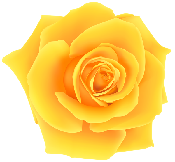 yellow rose clip art - Yellow Rose Clipart