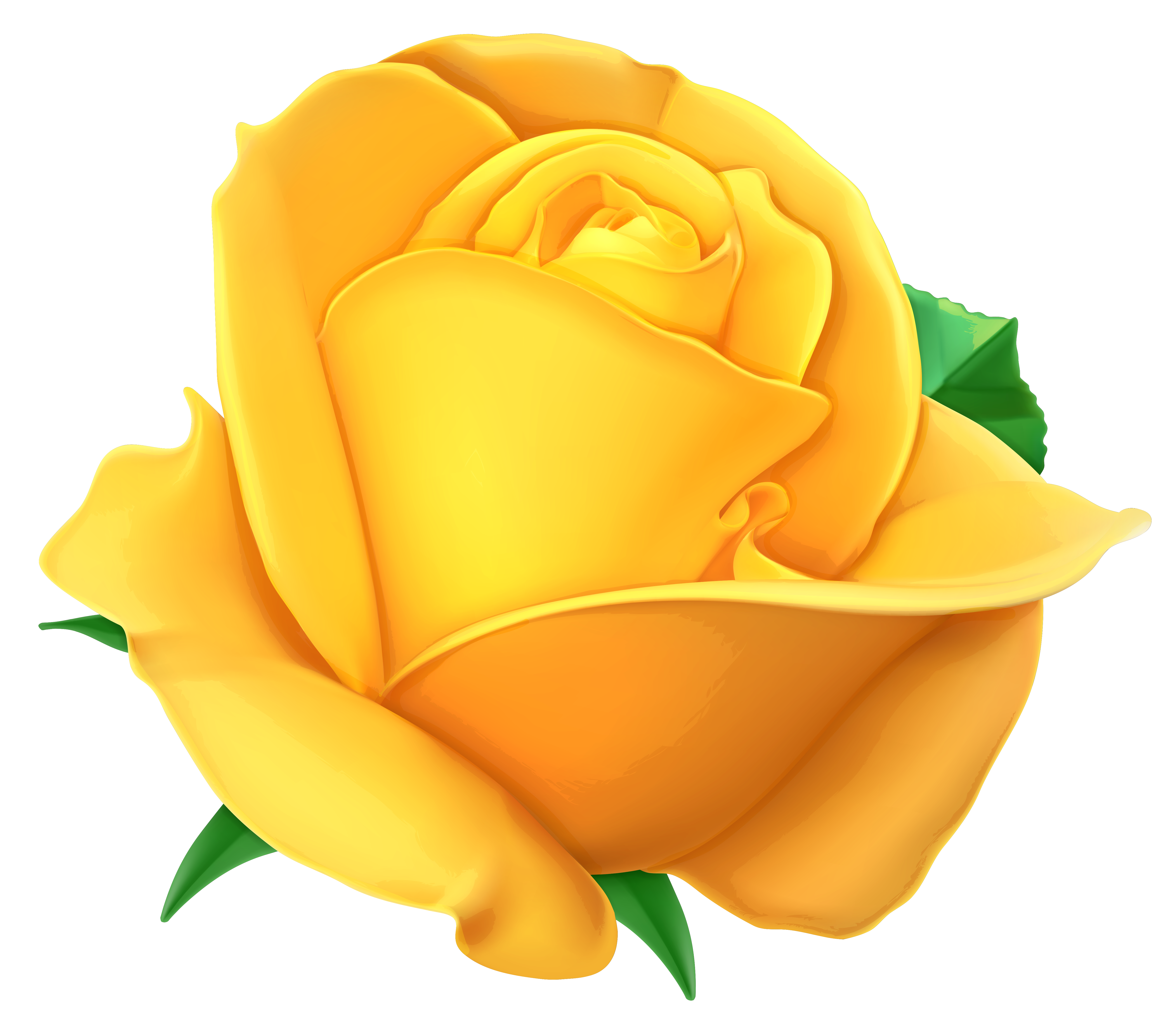 ... Yellow Rose Clipart - cli - Yellow Rose Clipart