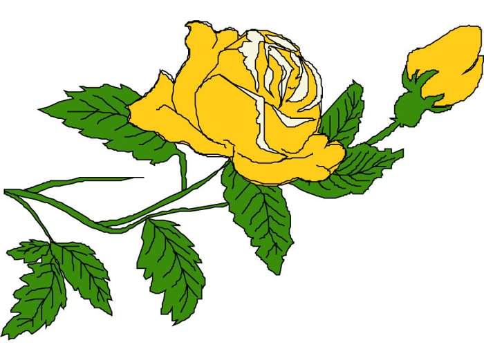 Yellow Roses Clip Art-Yellow Roses Clip Art-12