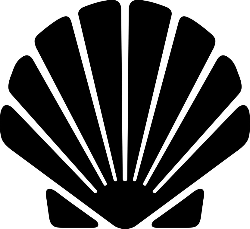 Yellow Scallop Shell Clip Art - Sea Shell Clipart