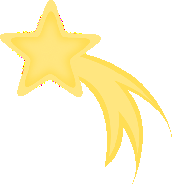 Yellow Shooting Star Clipart-Yellow Shooting Star Clipart-14