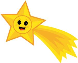 Yellow Shooting Stars Clipart Gallery-Yellow Shooting Stars Clipart Gallery-7