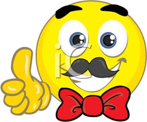 Yellow Smiley Face With A Red Bow Tie Cl-Yellow Smiley Face With A Red Bow Tie Clip Art Image-17