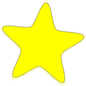 Yellow Star Free Clipart