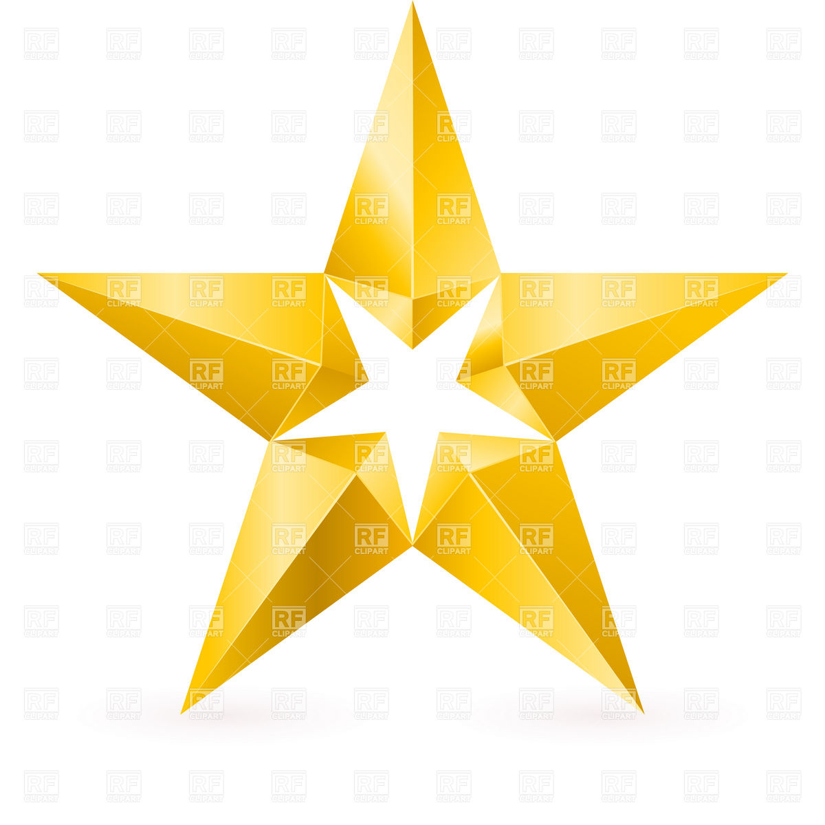 Yellow Stars Clip Art Shiny Gold Star Wi-Yellow Stars Clip Art Shiny Gold Star With Facets Objects Download-14