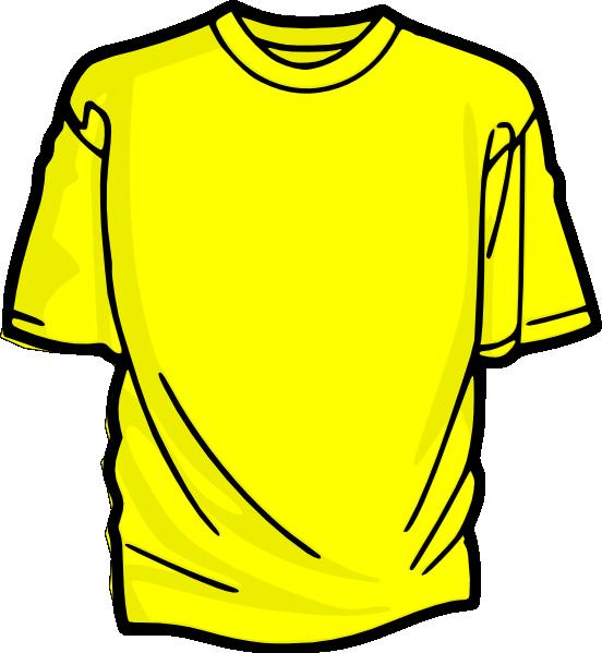 Yellow T Shirt Clip Art At Clker Com Vec-Yellow T Shirt Clip Art At Clker Com Vector Clip Art Online Royalty-16