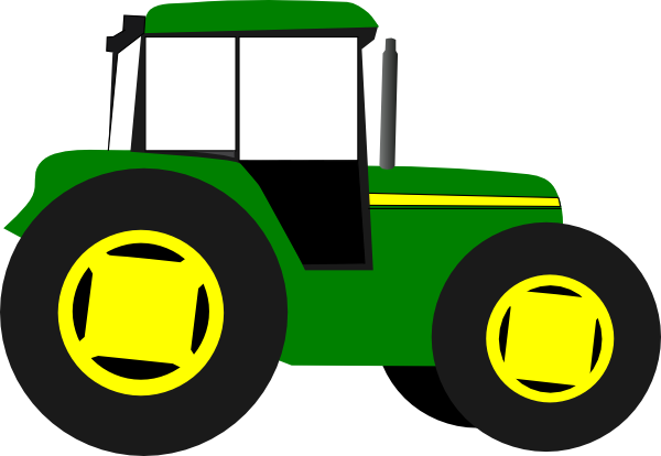 Yellow Tractor Clipart | Clipart library - Free Clipart Images