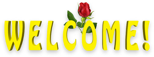 Yellow Welcome With Red Rose-yellow welcome with red rose-15