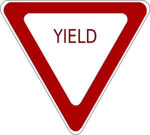 yield clipart