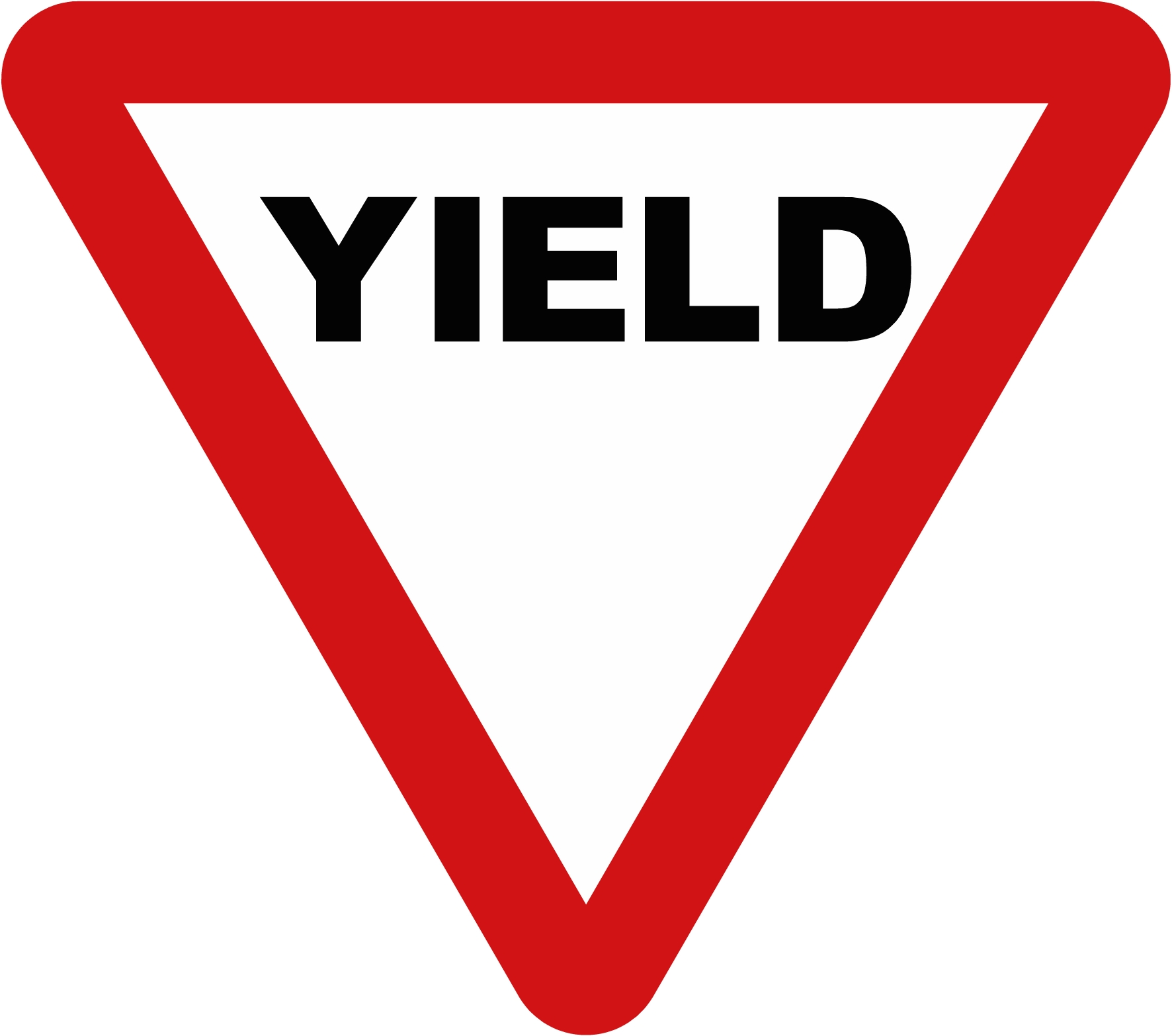 yield sign clipart-yield sign clipart-6