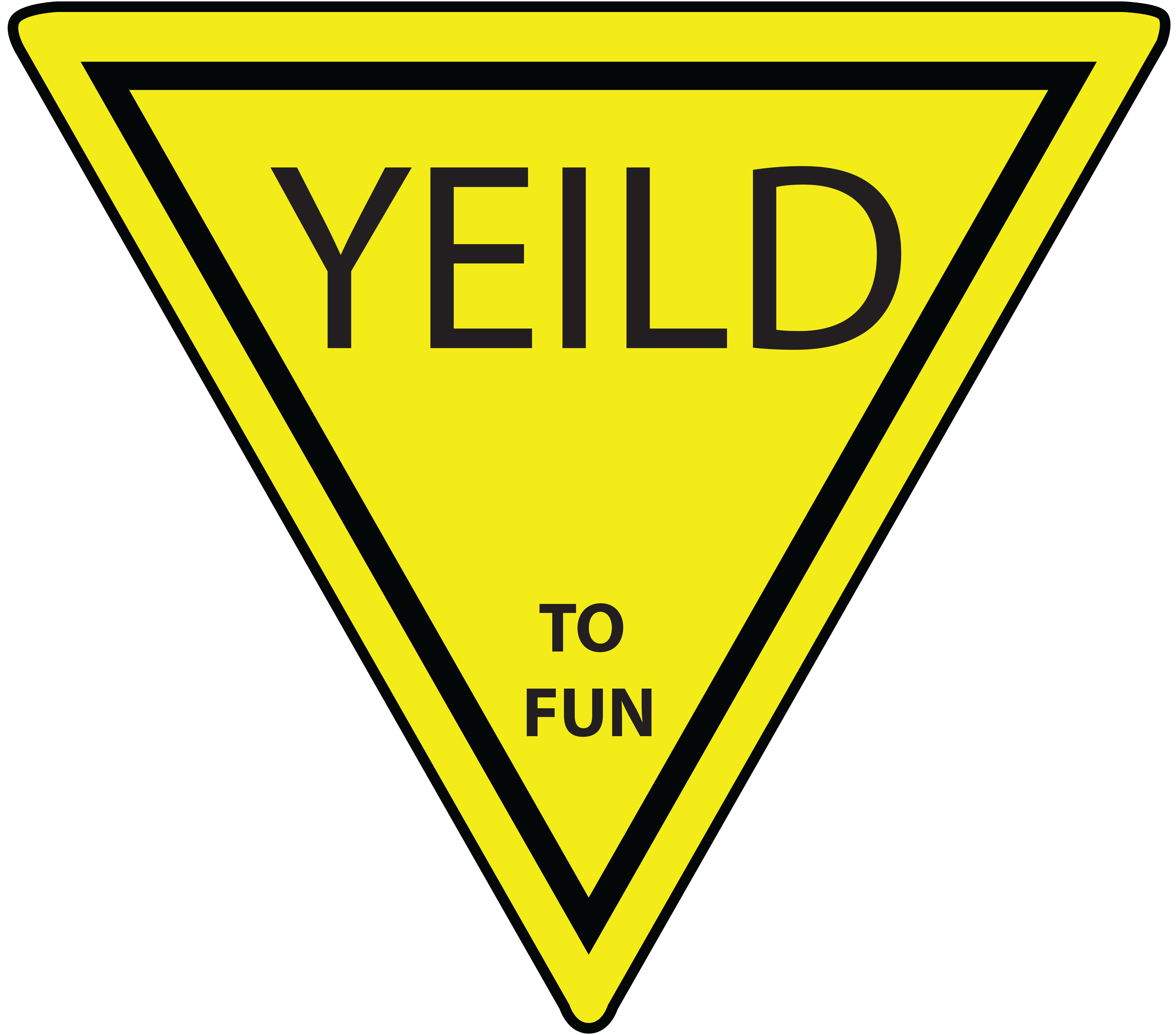 yield sign clipart-yield sign clipart-7
