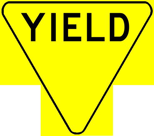 Yield sign clip art - ClipartFox-Yield sign clip art - ClipartFox-8