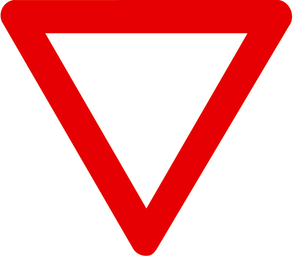 ... Yield Sign Clip Art ...