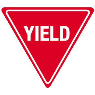 Yield Sign Hdpe Sign Kirby Built Quality Products