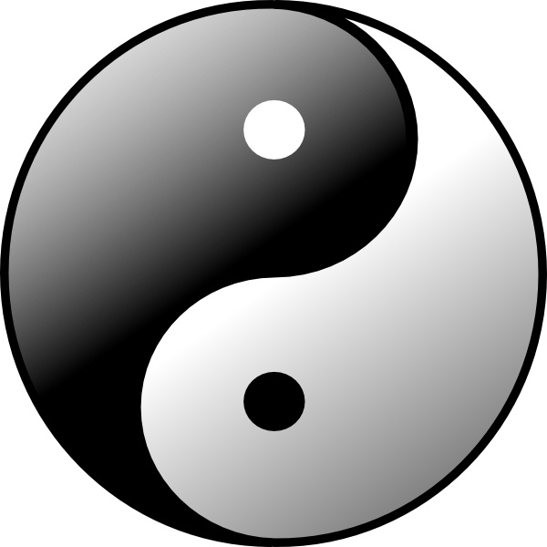 Yin Yang Symbol Stock ...
