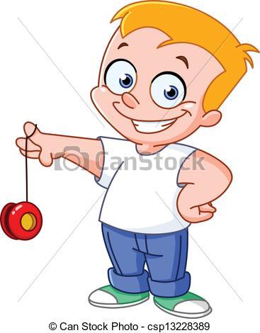 ... Yo yo kid - Kid playing with a yo-yo