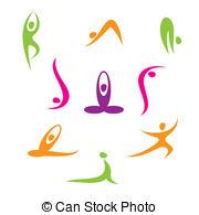 Yoga and tree Clipartby megija128/8,744; yoga - Yoga - a set of icons