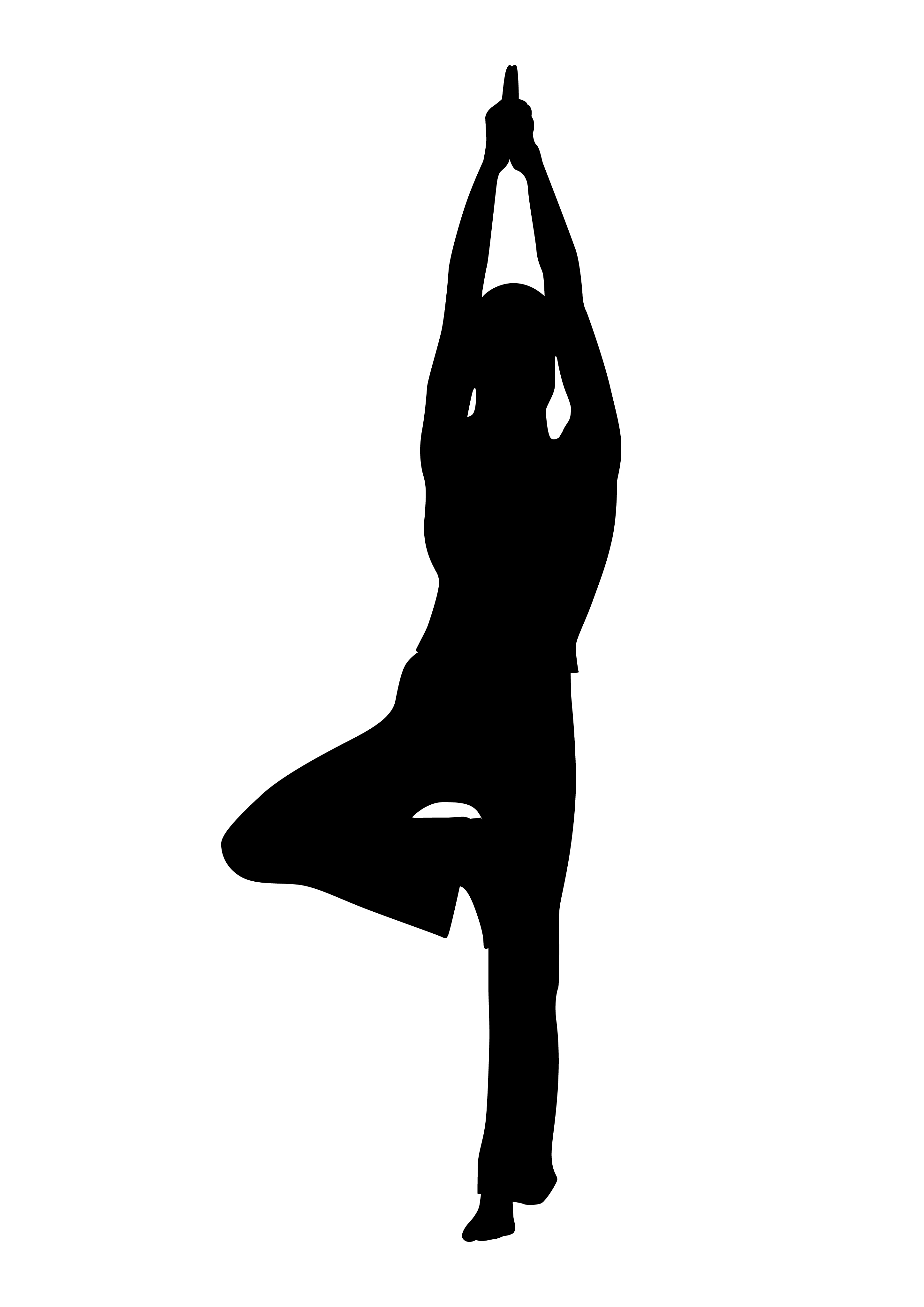 Yoga clip art free 2 clipartcow