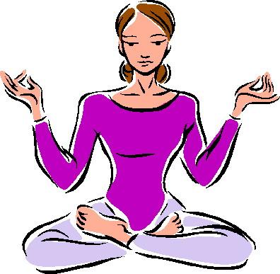 Yoga clip art free clipart image