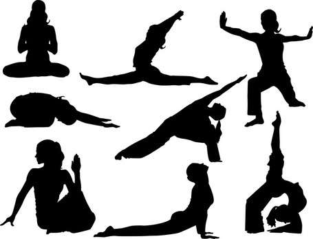 Yoga clip art vector yoga graphics image 3 2