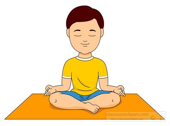 Yoga clip art vector yoga .