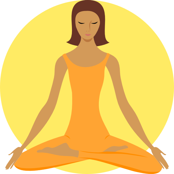 Yoga Clipart Image-Yoga clipart image-8