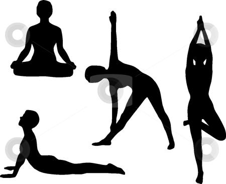 Yoga Clipart .-Yoga Clipart .-10