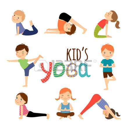 Yoga Clipart cartoon