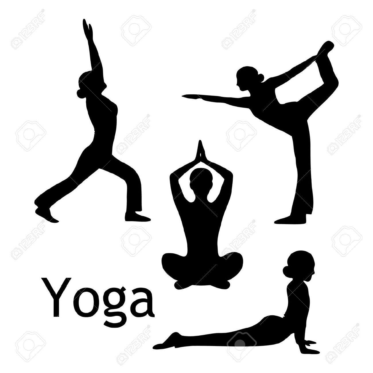 Yoga images clip art - .