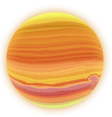 You can this glowing planet Jupiter clip art on your space magazines,  school projects, websites and blogs, presentations, reference books, etc.