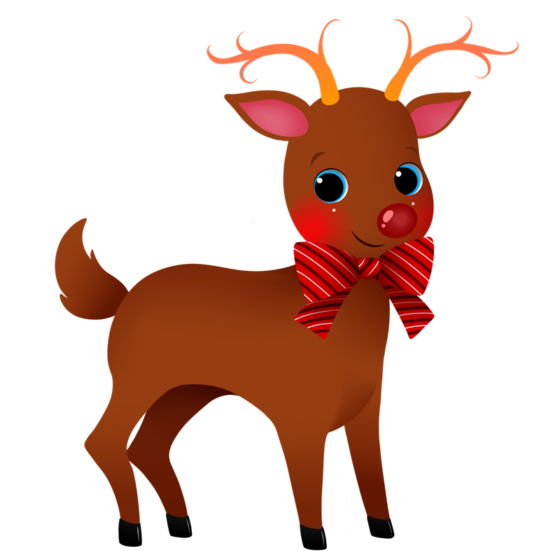 You can use this adorable reindeer clip -You can use this adorable reindeer clip art on your commercial or personal projects. Add life to your childrenu0026#39;s books, school projects, magazines, ...-11
