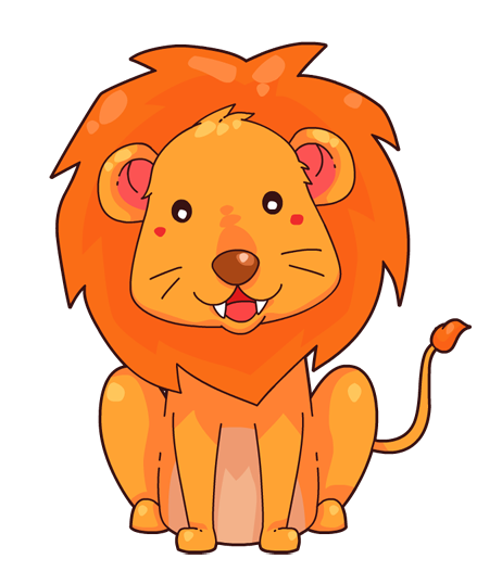 You can use this cute cartoon lion clip -You can use this cute cartoon lion clip art on your commercial or personal projects. Whether for use on your school projects or book illustrations, ...-14