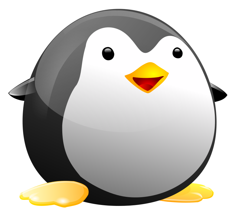 You can use this cute round p - Penguin Clip Art