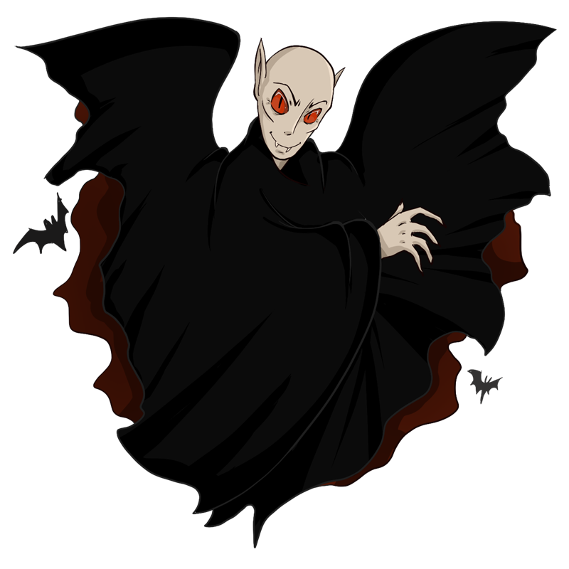 You Can Use This Evil Looking Count Drac-You can use this evil looking Count Dracula clip art on your Halloween projects, videos, game projects, websites and blogs, book illustrations, etc.-14