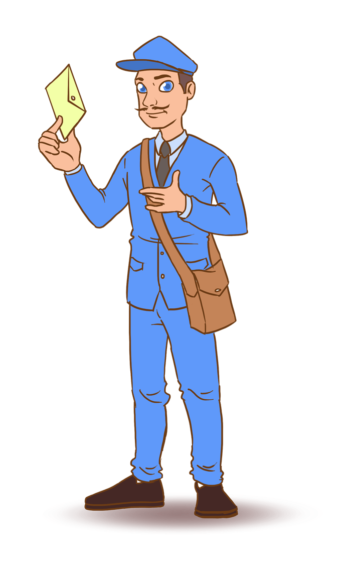 You can use this mailman clip art on whatever project of yours that requires an image of a postman. Use this clip art whether for personal or commercial ...