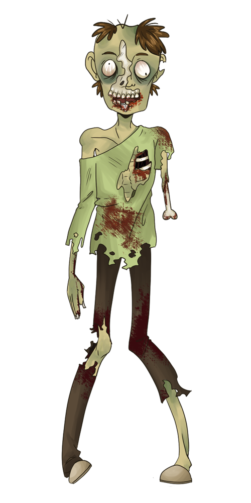 You can use this skinny zombie clip art -You can use this skinny zombie clip art on your personal or commercial projects. Use this clip art whenever you are required to show an image of a zombie on ...-16